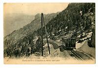 CPA 73 Savoie Chemin de fer à crémaillère du Mont-Revard