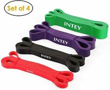 INTEY Pull up Assist Band Exercise Resistance Bands Set of 4 INTRB01