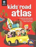 Rand McNally Kids' Road Atlas, Paperback by McGowan, Kristy; Richards, Karen;...