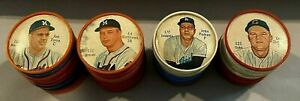 1962 Salada Tea and Junket (40) COIN BASEBALL LOT!!! Torre-Mathews-Podres-Zimmer