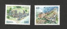 SERBIA-MNH** SET-EUROPA CEPT-CASTLES-FORTRESS-2017.