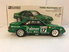 37765 FORD GREEN MUSTANG GT DICK JOHNSON 1986 BATHURST DIE CAST 1:18 MODEL CAR