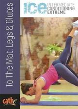 CATHE FRIEDRICH ICE SERIES TO THE MAT LEGS & GLUTES DVD WORKOUT NEW SEALED