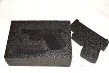 New Black Pelican 1150 case precut military foam fits Glock 26 27 43 & nameplate