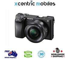 Sony Alpha a6300 Mirrorless Digital Camera with 16-50mm Lens - Brand New