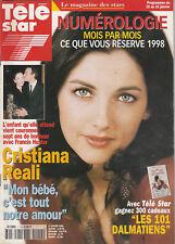 Tele Star N° 1111 Du 12/01/1998 - Hunter Tylo - E. Hurley - Dalila Di Lazarro