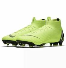 New Nike Mercurial Superfly 6 Elite FG Soccer Cleats Sz 13 Volt Black AH7365-702