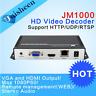 H.264 HDMI & VGA Video Decoder -HT*P RTSP UDP stream receiver from video Decoder