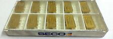 10 Wendeplatten inserts  ABER 2606 ZFFR M15 T20M von Seco  Neu H6262