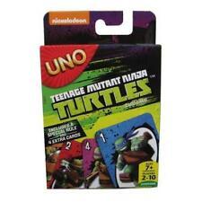 Teenage Mutant Ninja Turtles uno juego de cartas