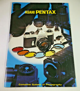 Product booklet for the Asahi Pentax 'Complete System Of Photography', 1960s