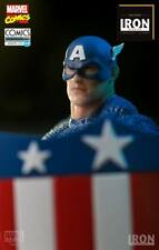 Iron Studios Captain America Art Scale 1/10 EXclusive - Marvel Comics Série 4