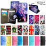 For Sony XPeria Z3 D6603 / Z3 Compact D5803 case Leather Wallet Book Flip cover