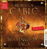 REBECCA GABLÉ - DIE WARINGHAM-SAGA TEIL 1-5  10 CD-ROM NEW