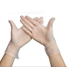 Large Kitchen Cleaning Premium Food Service Powder Free Synthetic Vinyl Gloves