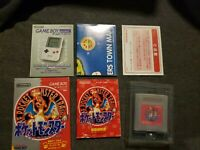 Pocket Monsters Red Pokemon Nintendo GB GAME BOY Japan Import Boxed Complete