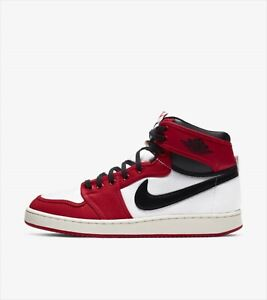 NIKE AIR JORDAN 1 KO CHICAGO WHITE BLACK UNIVERSITY RED DA9089-100 US 9