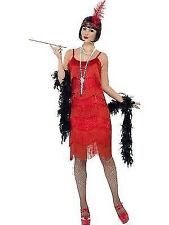 20s Shimmy Red Flapper Small 6 - 8 Ladies Costume