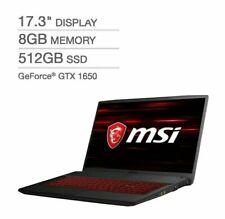 MSI GF75 Thin Gaming Laptop - 10th Gen Intel Core i5-10300H - GeForce GTX 1650