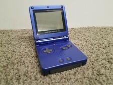 Nintendo GameBoy Advance SP Cobalt Blue -SP AGS-001 w/ Namco Museum game