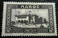 Morocco :1933 Local Motives 15 C. Rare & Collectible Stamp.