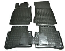 Rubber Car Floor Mats All Weather Custom Fit Mercedes-Benz W222 Short WB 2013-