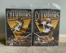 Pittsburgh Penguins Steelers City Of Champions Cereal Featuring Talbot And Ward