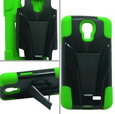 For LG Access LTE L31G L31L L31C / LG F70 D315 T -Stand Hybrid Case Phone Cover