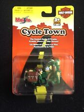 Maisto Harley-Davidson Cycle Town Toy Vehicle 2007 Green NEW Sealed Ages 3+ FUN!