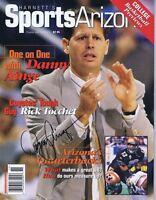 Danny Ainge Signed 1997 Harnett's Sports Full Magazine Celtics