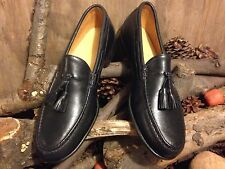 90s  TIMBERLAND  MOCCASIN SHOES 10010 BLACK SIZE 11.5 MADE USA