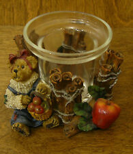 Boyds Votive #27728 Ms. Macintosh...Mulled Spices, 1st Ed, NIB From Retail Store