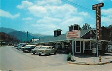 50's Autos Parked in Front of the Parkway Restaurant, Gatlinburg TN