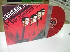 KRAFTWERK LP THE MAN MACHINE RED VINYL
