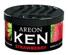 NEW Areon Ken Car Air Freshener Strawberry Scent Air Purifier Perfume Scents