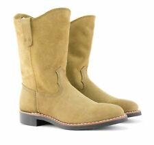 Women's Red Wing 6 Pecos Olive Mohave Leather 3469 Suede Boots Pull On 10-Inch