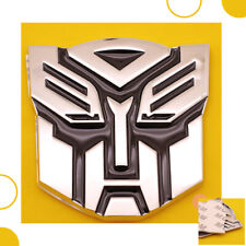 3d Car Auto Transformer Autobot Logo Emblem Badge Sticker Decal Chrome Fits 2007 Sportage