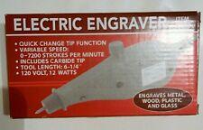 Electric engraver