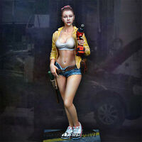 1/20 Female Technician Resin Kits Model GK Unpainted Unassembled