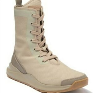 $595 Authentic HOOD RUBBER Men's High Top Lace Up Stylish Owens Sneaker Boot 11