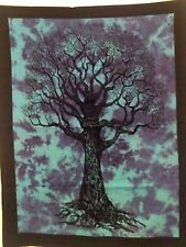 Indian Dry Tree Life Wall Hanging Decor Cotton Poster Home Decor art Tapestry