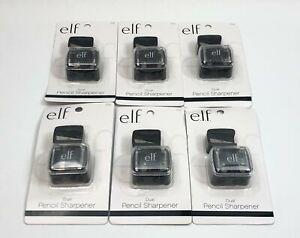 Lot of 6 Boxes e.l.f. 1731 Makeup Dual Pencil Sharpener