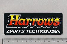 Aufkleber/Sticker Harrows Darts Technology
