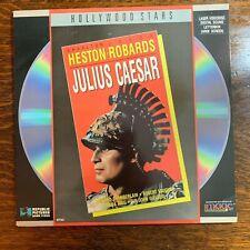 Laser Disc ~ Julius Caesar ~ Charlton Heston