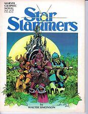 """""""Star Slammers"""", by Walter Simonson - Marvel Graphic Novel # 6 - 1983"""