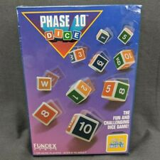 Phase 10 Dice Game 1993 Fundex New in original Shrinkwrap NEW