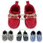 XD#3 Baby Toddler infant boy Soft Sole Denim prewalker Crib Shoes 0-18 Month