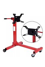 Pro 1000Lbs Shop Engine Stand Hoist Automotive Lift Rotating 4 Leg Durable Motor