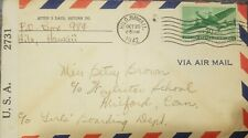 O) 1942 United States- Hilo Hawaii-Possession-Censors hip Usa 2731,Via Airmail, T