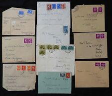 BL / Enveloppe  Pays-Bas x10 -> Vers 1950